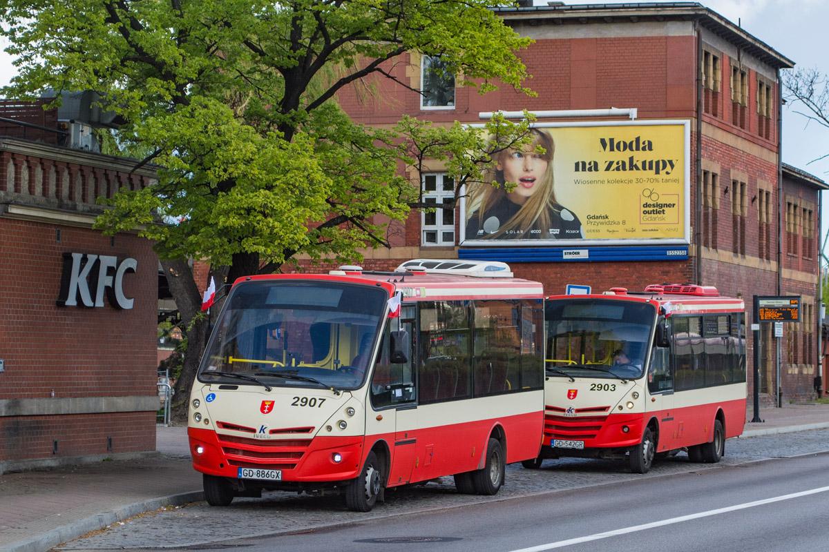 Gdańsk, Kapena Urby # 2907; Gdańsk, Kapena Urby # 2903