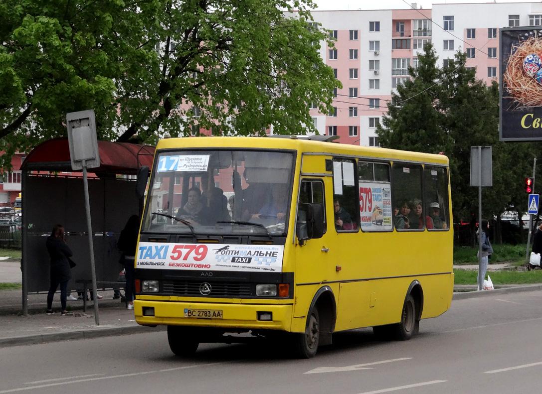 """Lviv, BAZ-А079.14 """"Эталон"""" # ВС 2783 АА"""