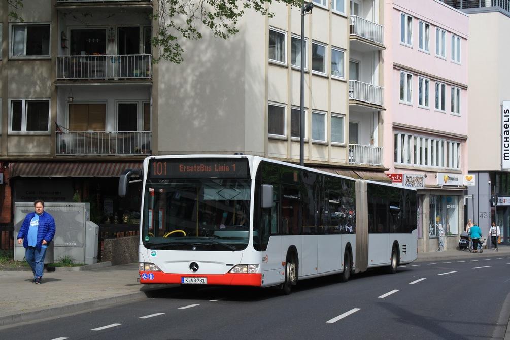 Köln, Mercedes-Benz O530 Citaro G # 781
