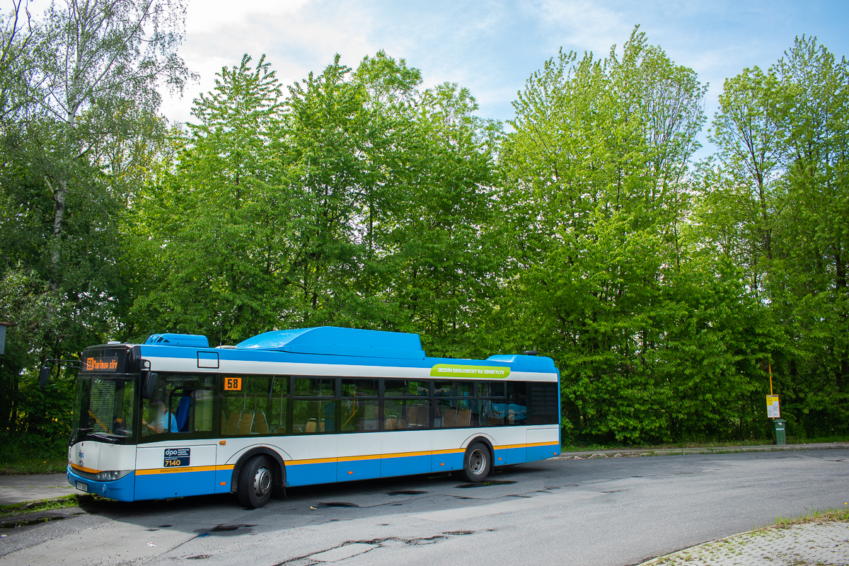 Ostrava, Solaris Urbino III 12 CNG # 7140