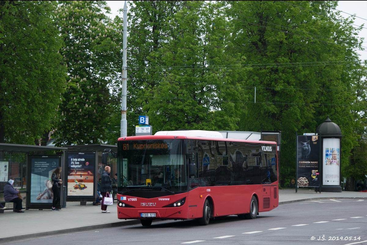 Vilnius, Anadolu Isuzu Citibus (Yeni) # V7005