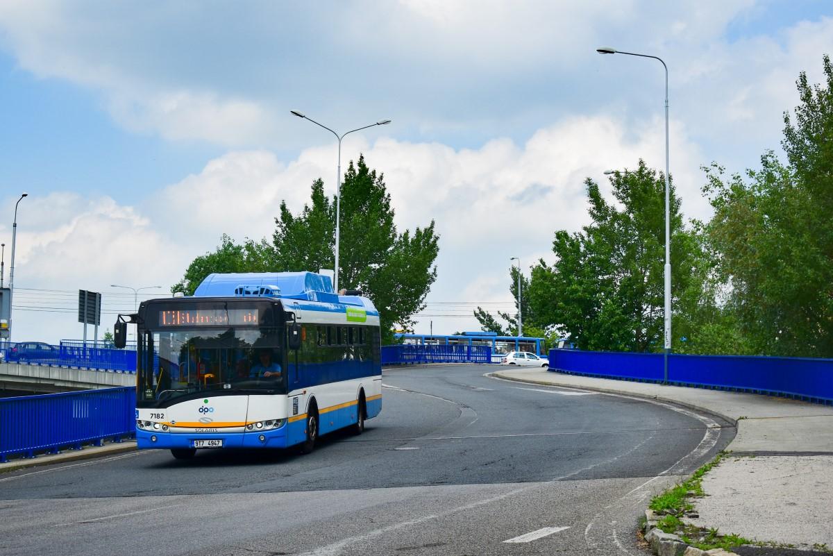 Ostrava, Solaris Urbino III 12 CNG # 7182