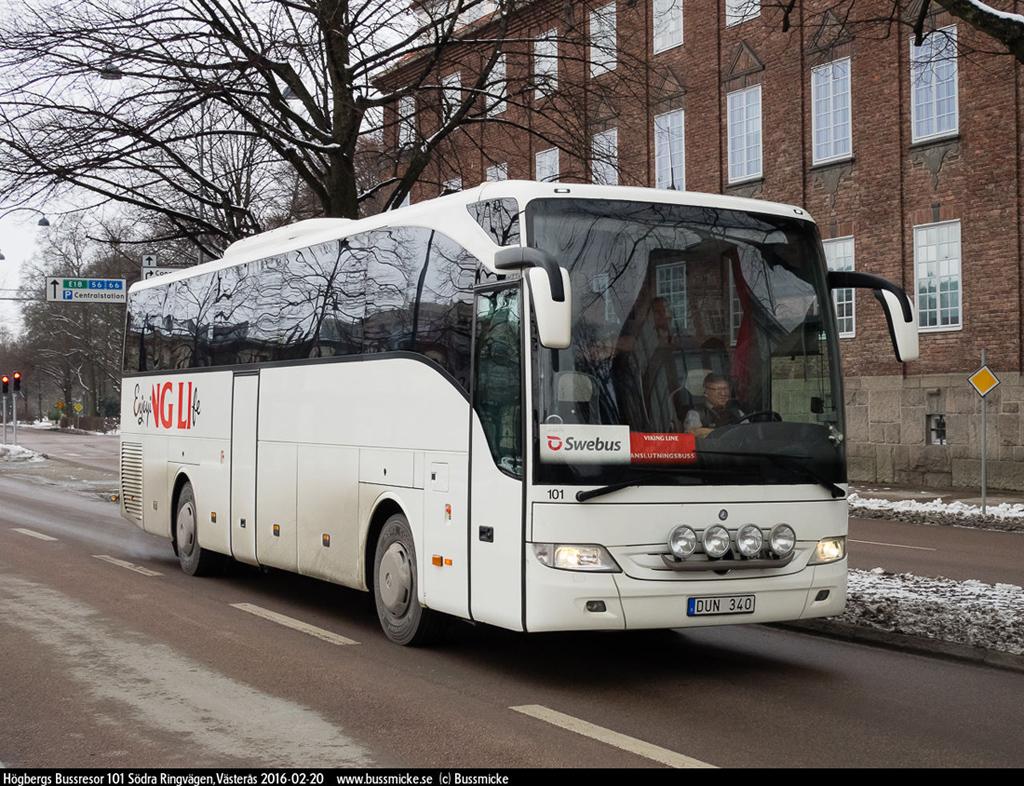 Uppsala, Mercedes-Benz O350-15RHD Tourismo # 101