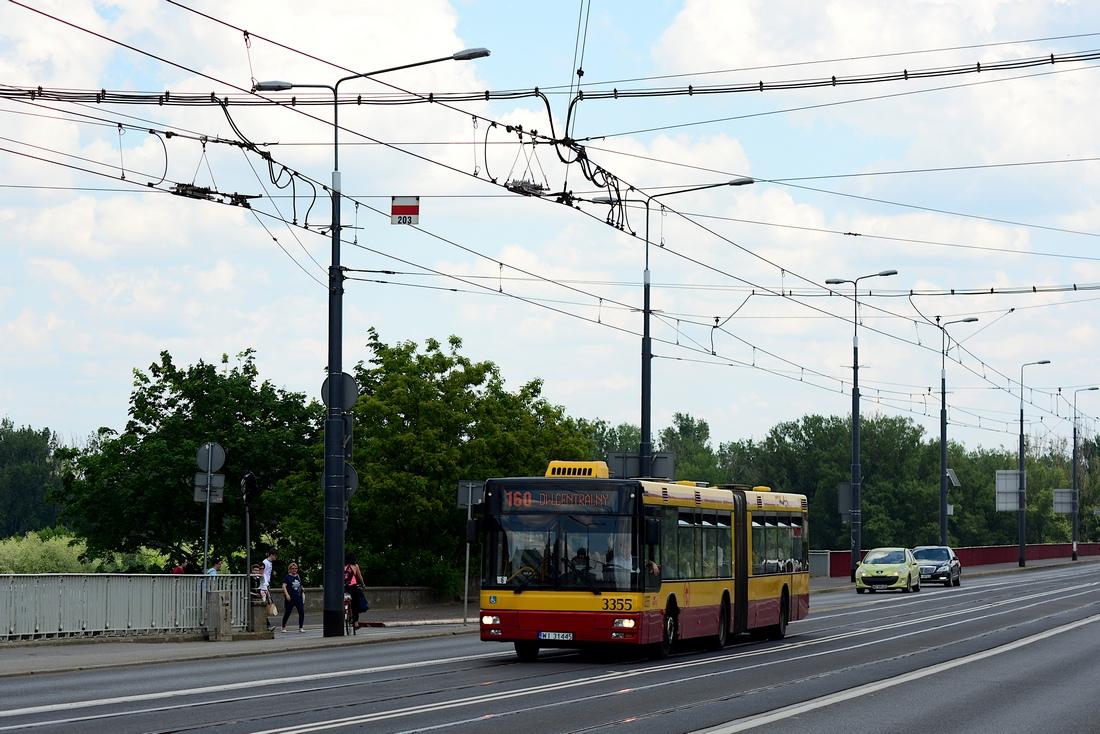 Warsaw, MAN A23 NG313 # 3355