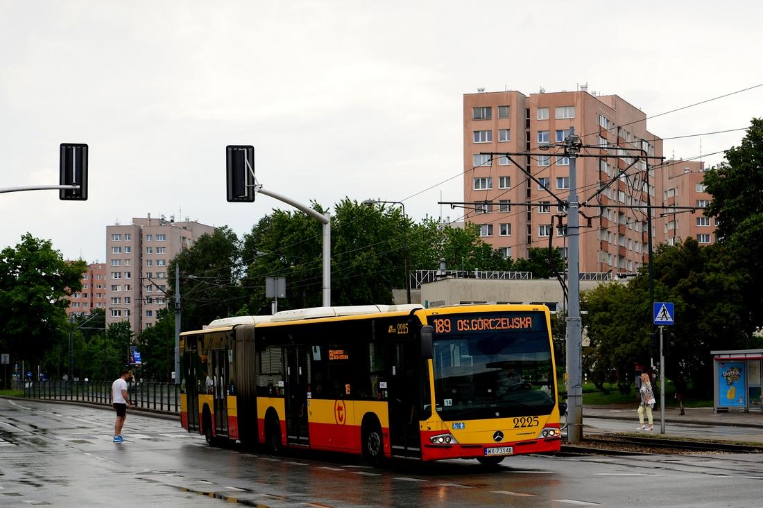 Warsaw, Mercedes-Benz Conecto LF G # 2225