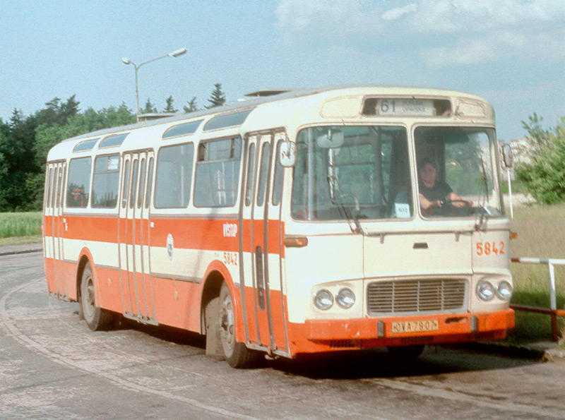 Ostrava, Karosa ŠM11.1630MOC # 5842; Ostrava — Old photos