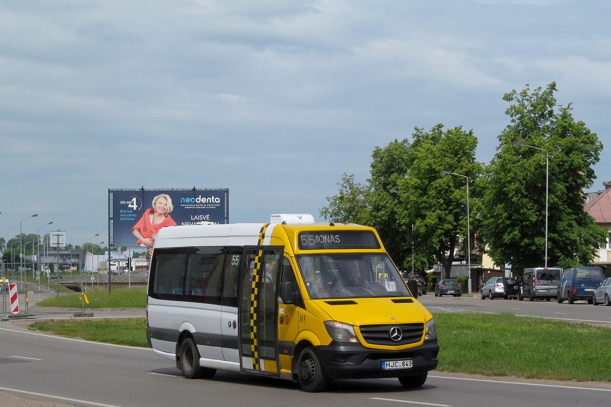 Kaunas, Altas Cityline (MB Sprinter 516CDI) # 819