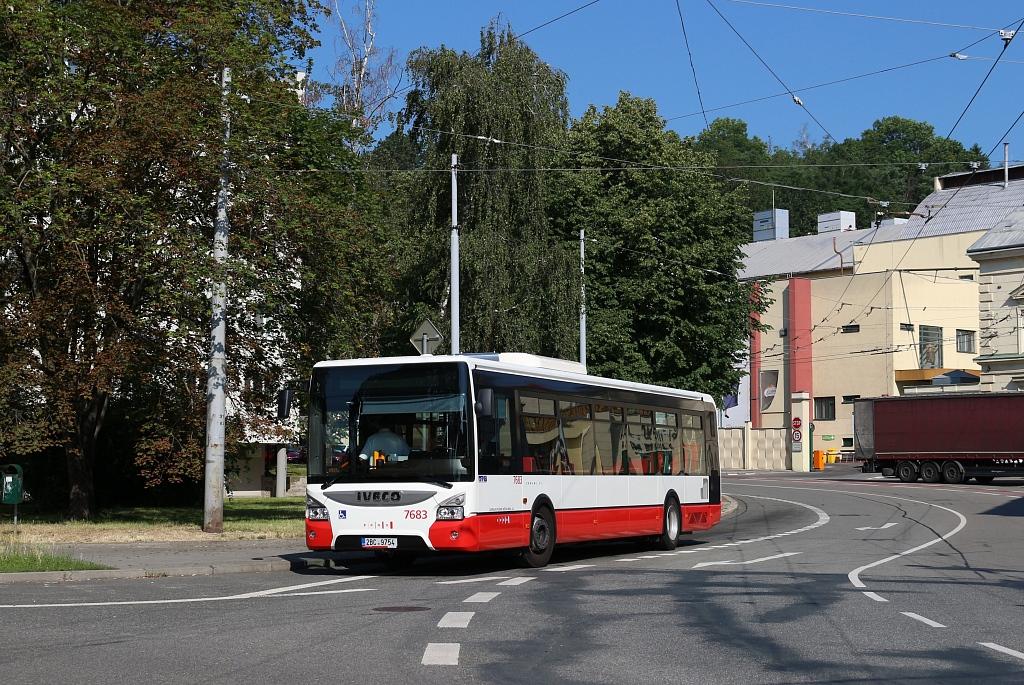 Brno, IVECO Urbanway 12M # 7683