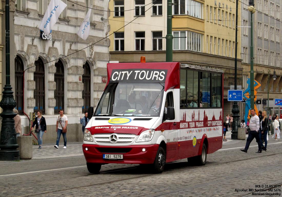 Prague, Mercedes-Benz Sprinter 516CDI # 3AI 5276