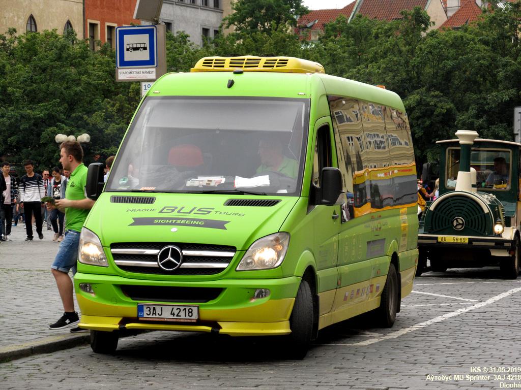 Prague, Mercedes-Benz Sprinter 519CDI # 274
