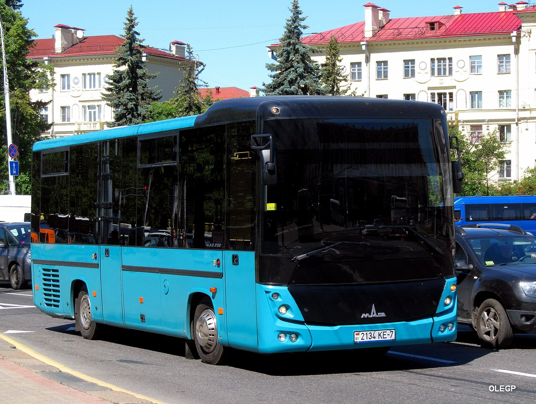 Minsk, MAZ-232.062 # 2134 КЕ-7