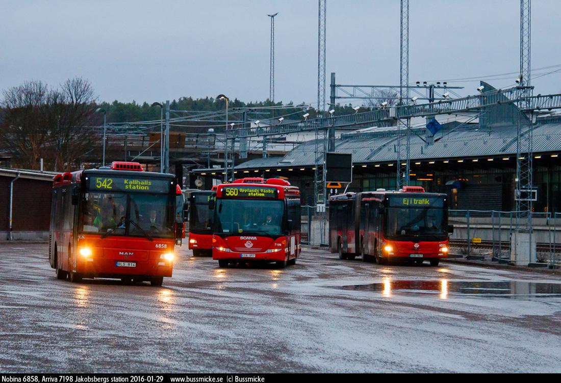 Stockholm, MAN A78 Lion's City T EL263 # 6858