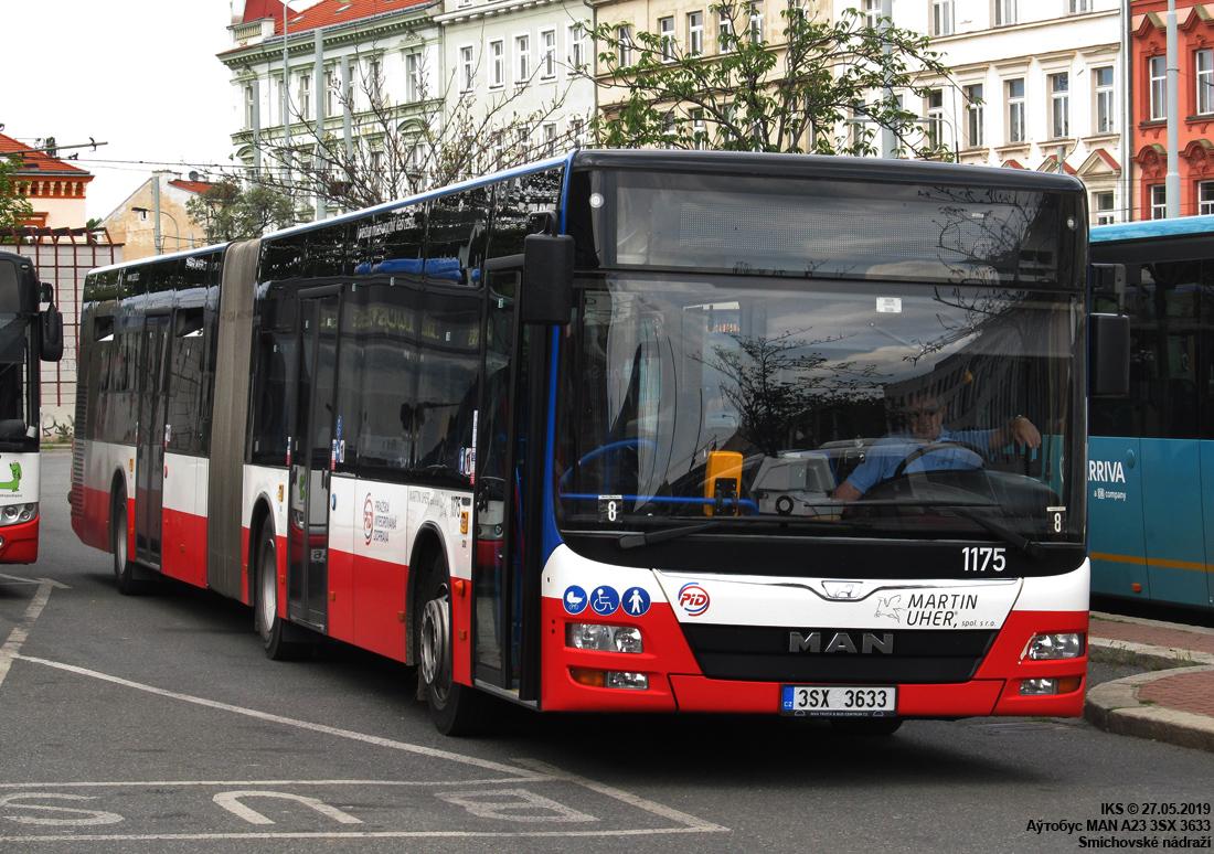 Okres Praha-západ, MAN A23 Lion's City G NG # 1175