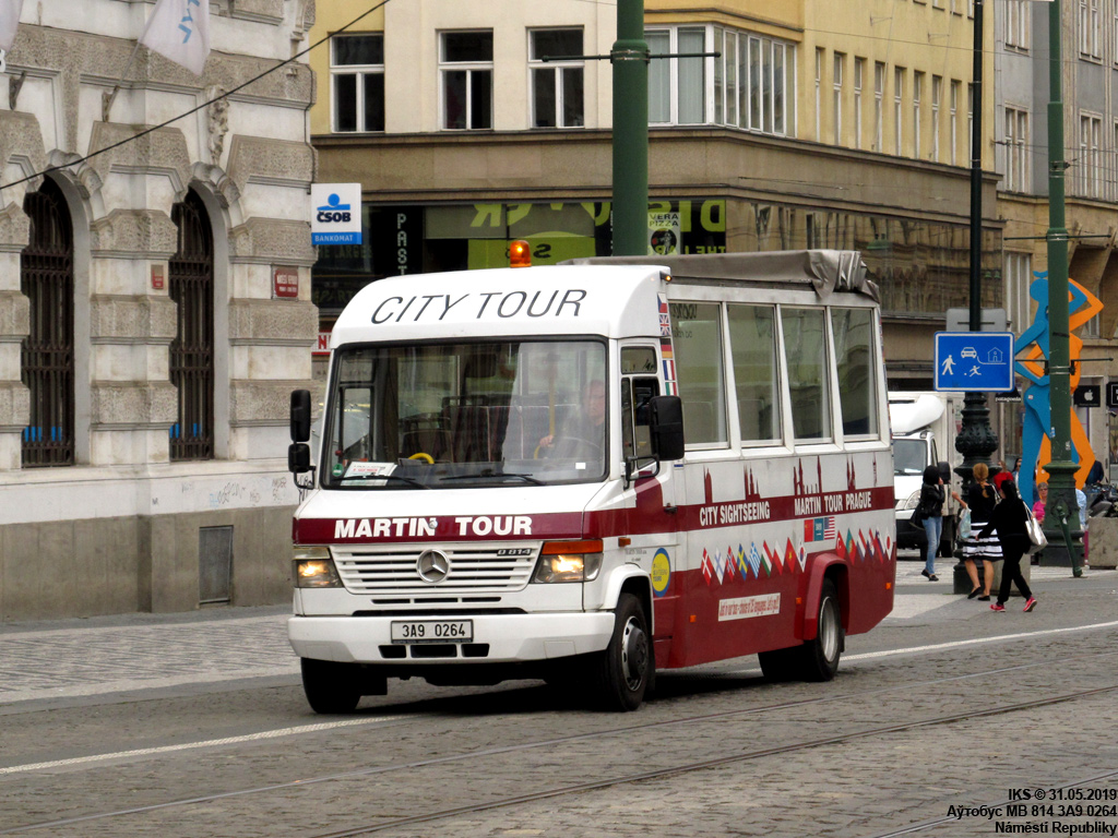 Prague, Mercedes-Benz Vario 814D # 3A9 0264