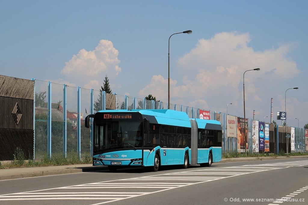 Ostrava, Solaris Urbino IV 18 CNG # 7866