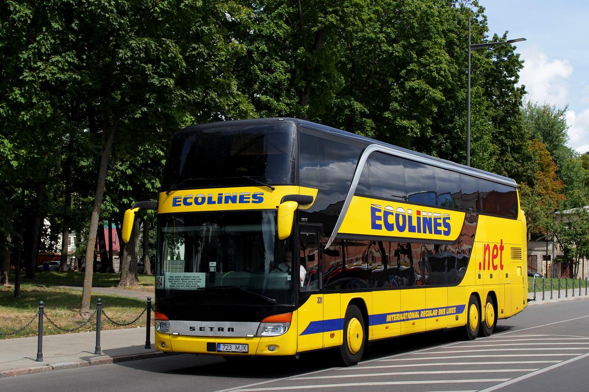 Tallinn, Setra S431DT # 331