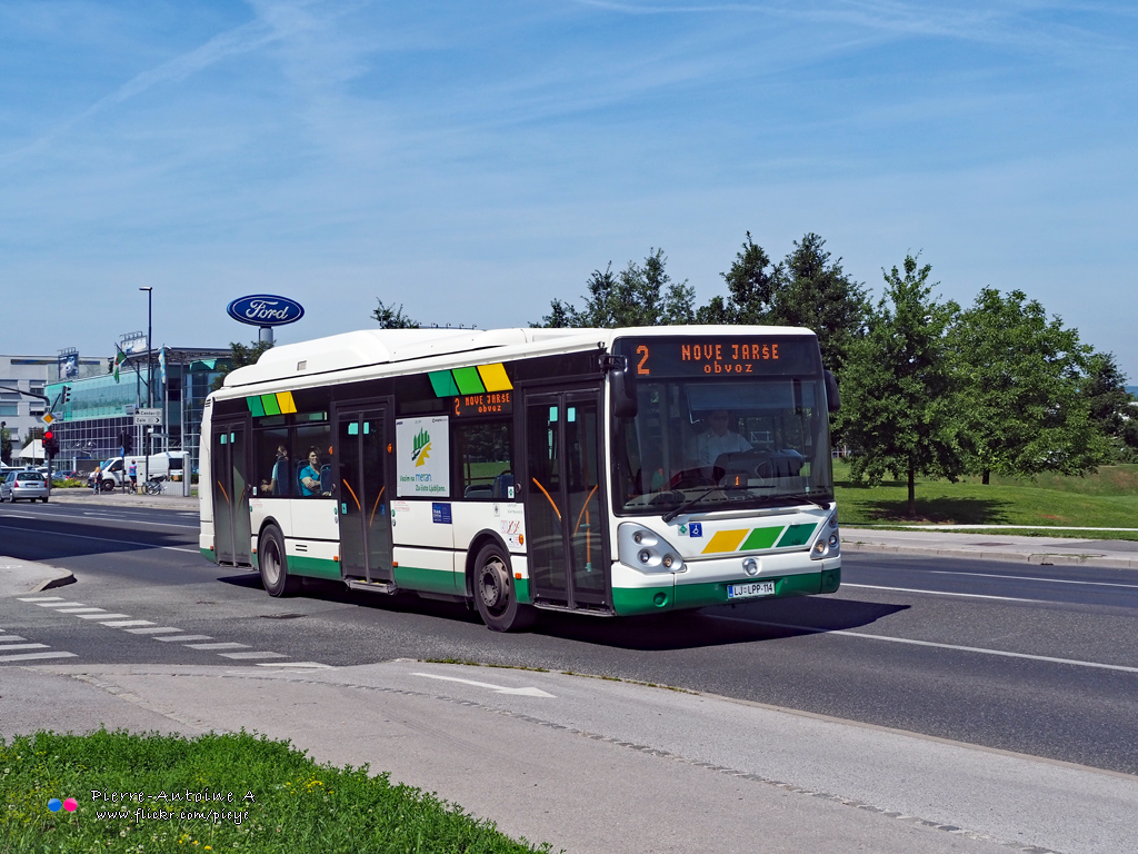 Ljubljana, Irisbus Citelis 12M CNG # 114