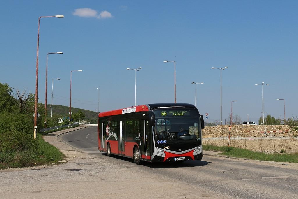 Bratislava, SOR NS12 electric # 3013