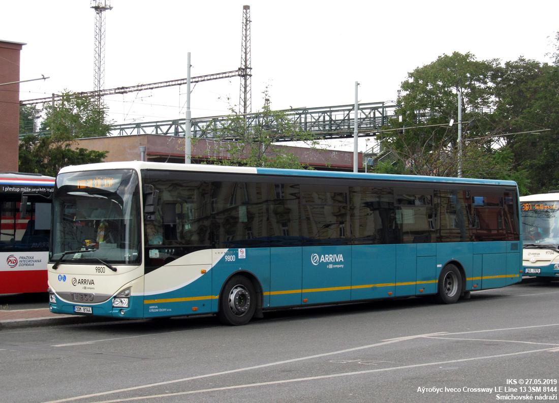 Příbram, IVECO Crossway LE Line 13M # 9800