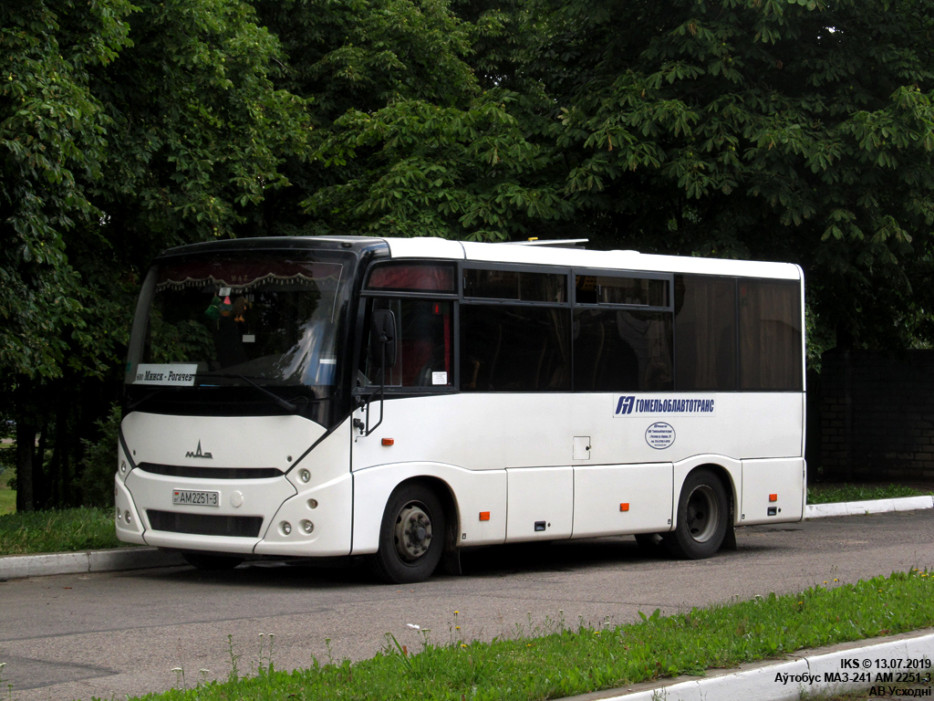 Rogochov, MAZ-241.000 # АМ 2251-3