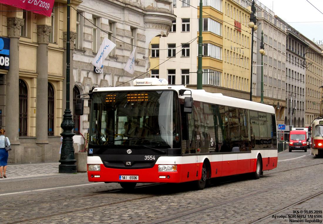 Prague, SOR NB12 # 3554
