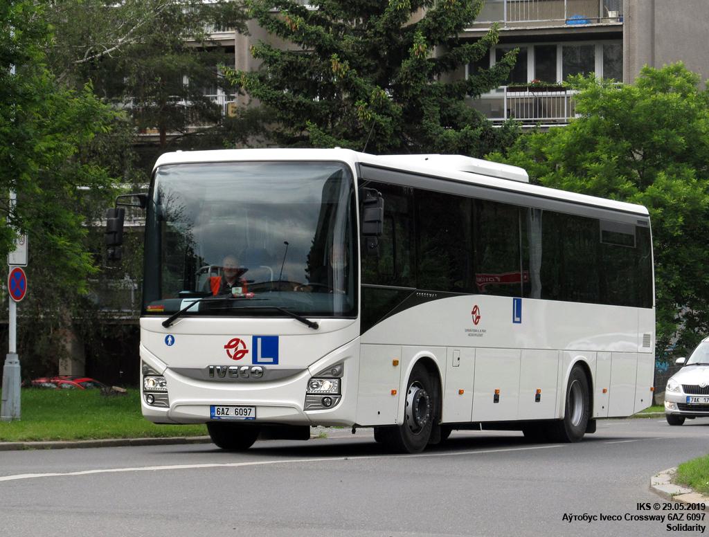 Prague, IVECO Crossway PRO 10.8M # 6AZ 6097