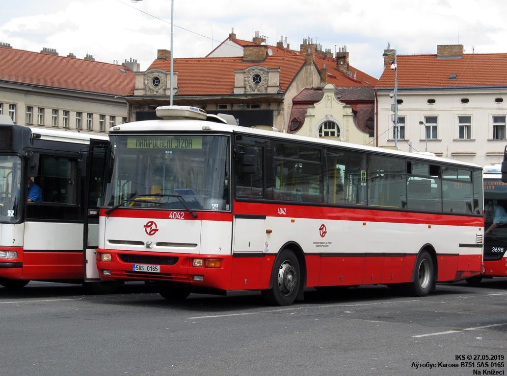 Prague, Karosa B951E.1713 # 4042