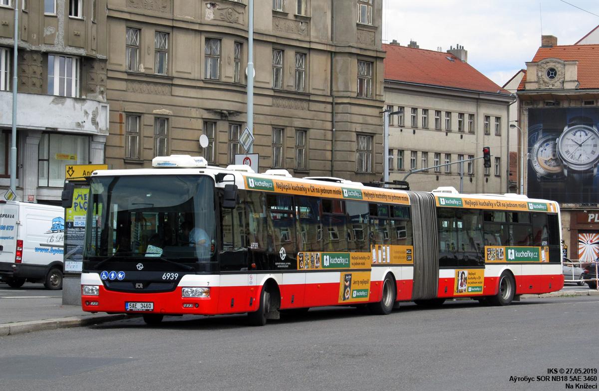 Prague, SOR NB18 # 6939