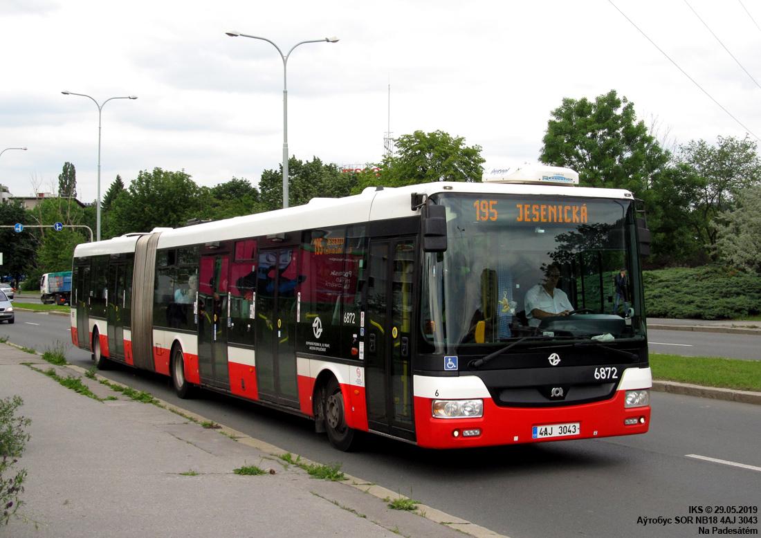 Prague, SOR NB18 # 6872