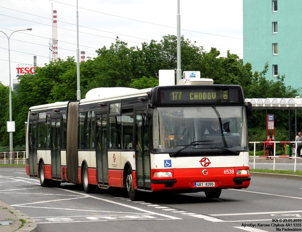 Prague, Karosa Citybus 18M.2081 (Irisbus) # 6538