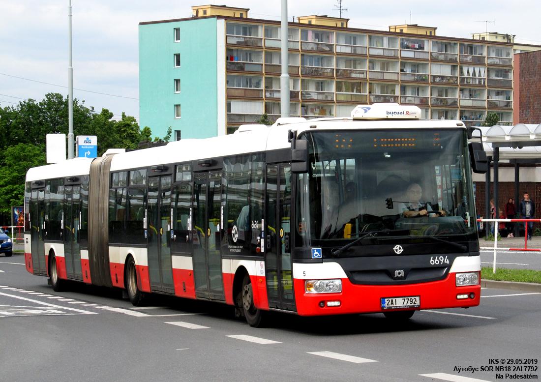 Prague, SOR NB18 # 6694