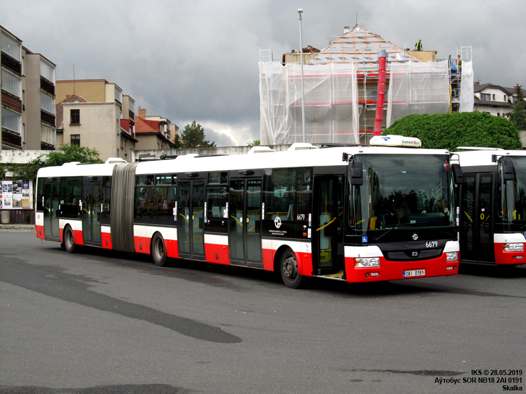 Prague, SOR NB18 # 6679