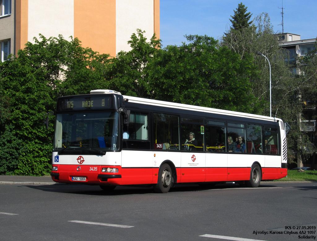 Prague, Karosa Citybus 12M.2071 (Irisbus) # 3435