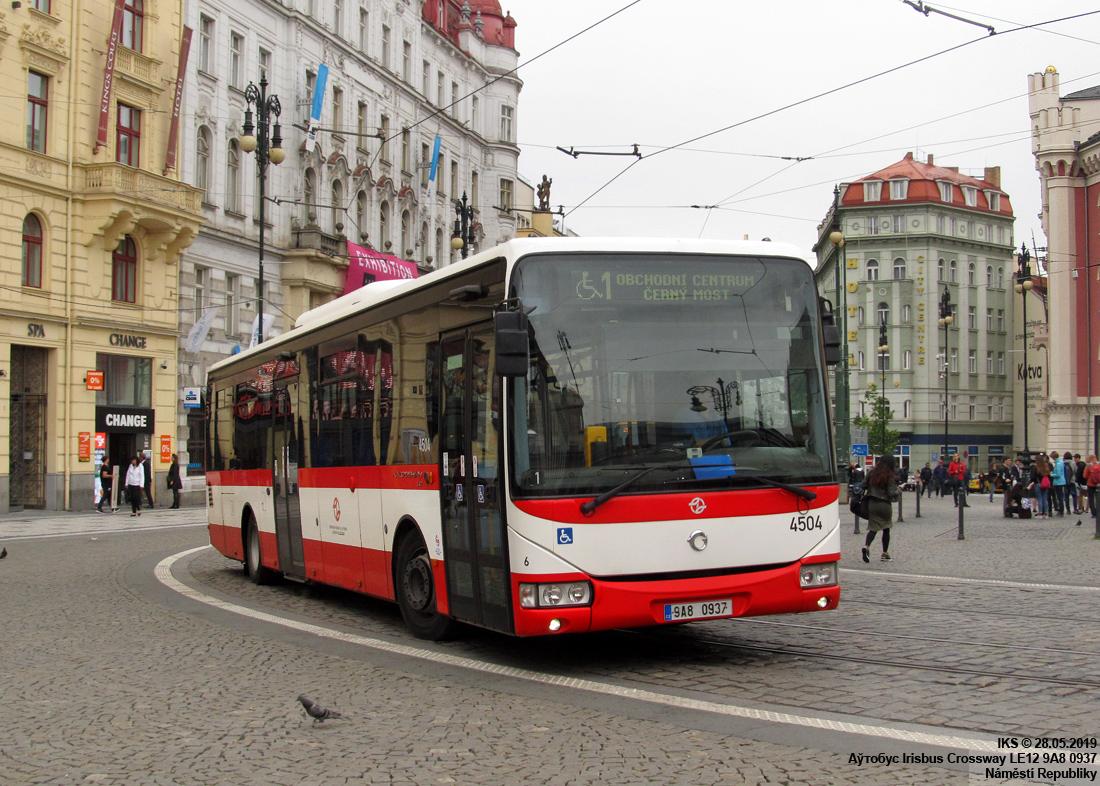 Prague, Irisbus Crossway LE 12.8M # 4504