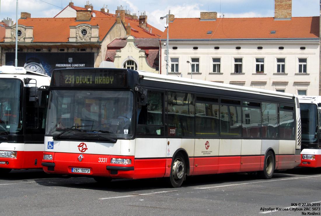 Prague, Karosa Citybus 12M.2071 (Irisbus) # 3331