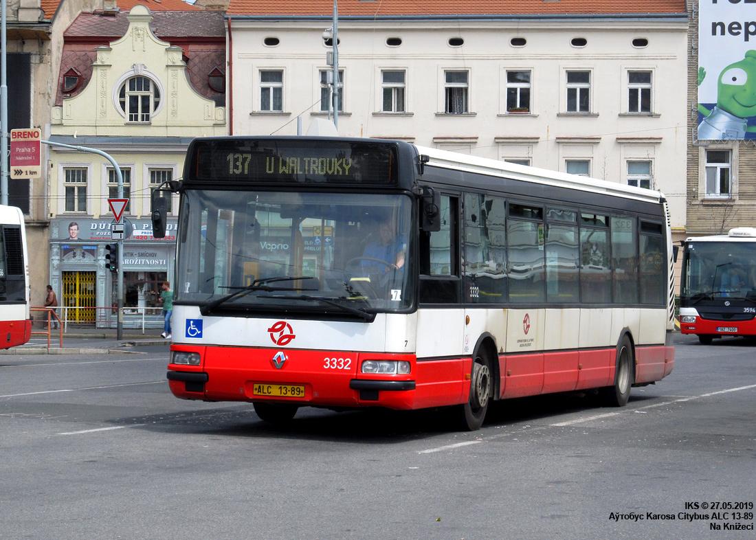 Prague, Karosa Citybus 12M.2071 (Irisbus) # 3332