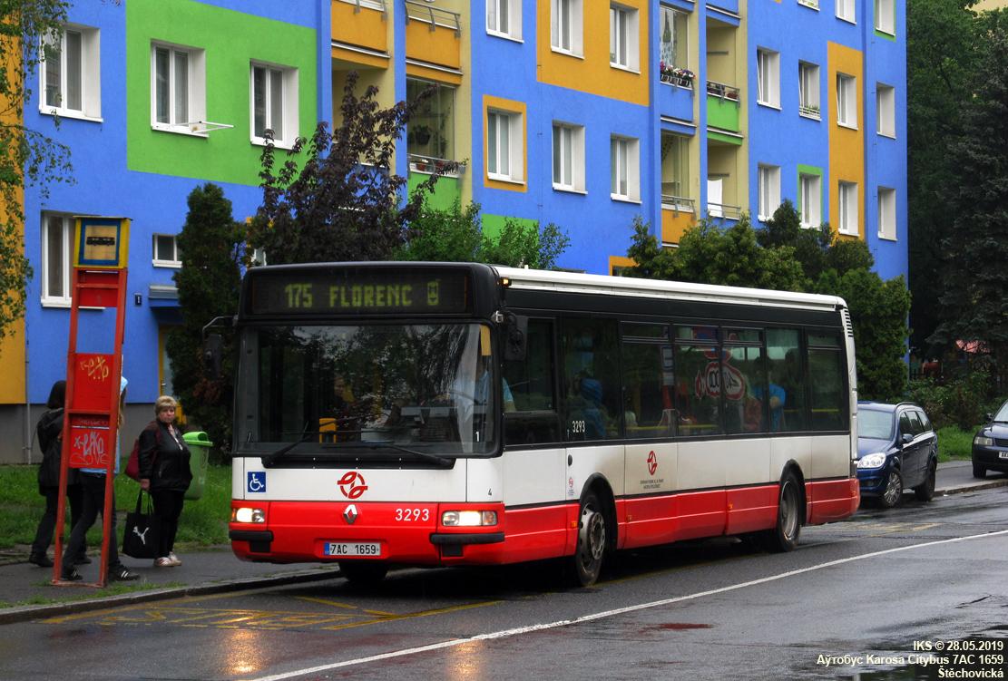 Prague, Karosa Citybus 12M.2070 (Renault) # 3293