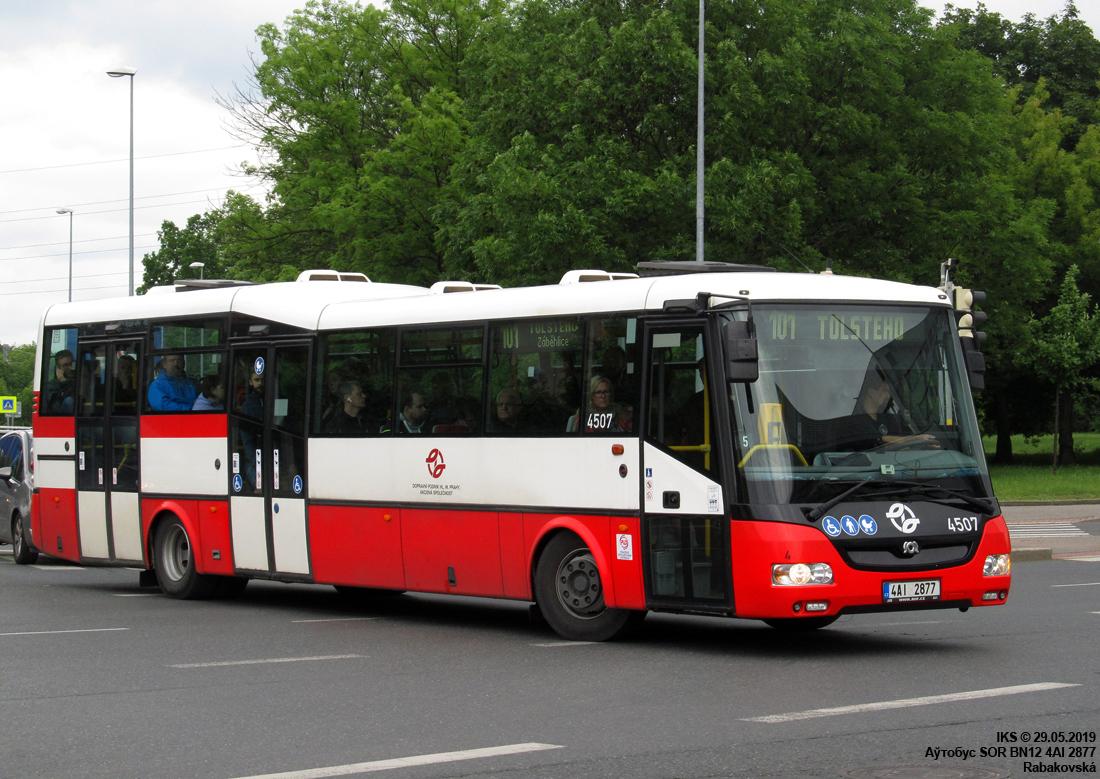 Prague, SOR BN12 # 4507