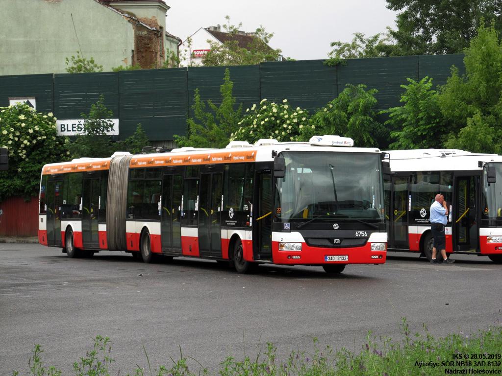 Prague, SOR NB18 # 6756