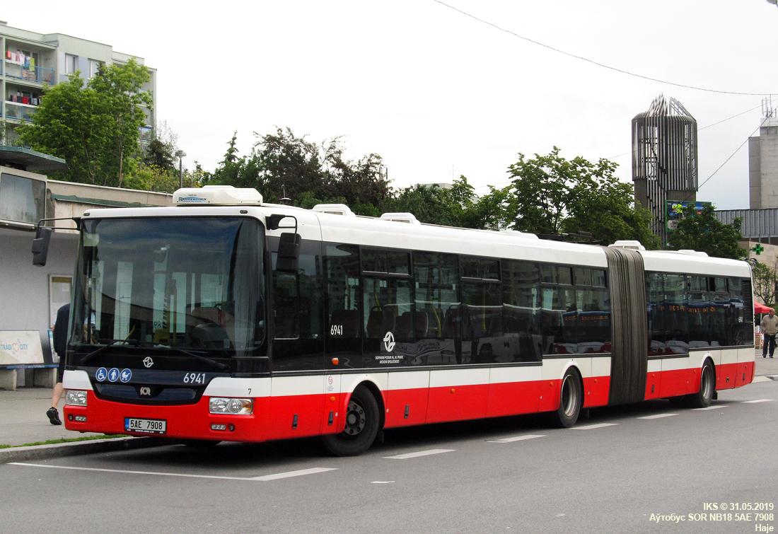 Prague, SOR NB18 # 6941